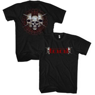 TOOL Skull Spikes, Tシャツ<img class='new_mark_img2' src='https://img.shop-pro.jp/img/new/icons5.gif' style='border:none;display:inline;margin:0px;padding:0px;width:auto;' />
