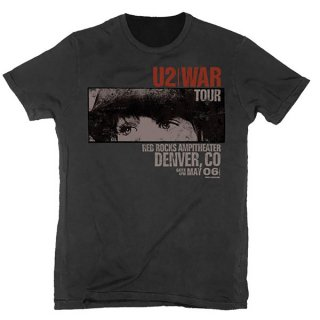 U2 War Red Rocks, Tシャツ<img class='new_mark_img2' src='https://img.shop-pro.jp/img/new/icons5.gif' style='border:none;display:inline;margin:0px;padding:0px;width:auto;' />