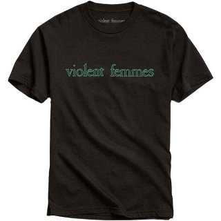 VIOLENT FEMMES Green Vintage Logo, Tシャツ<img class='new_mark_img2' src='https://img.shop-pro.jp/img/new/icons5.gif' style='border:none;display:inline;margin:0px;padding:0px;width:auto;' />