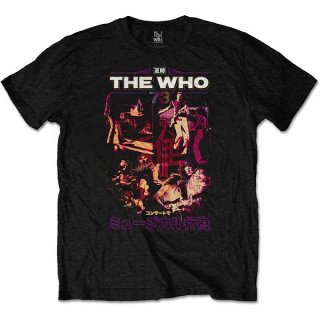 THE WHO Japan '73, Tシャツ<img class='new_mark_img2' src='https://img.shop-pro.jp/img/new/icons5.gif' style='border:none;display:inline;margin:0px;padding:0px;width:auto;' />
