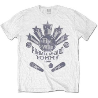 THE WHO Pinball Wizard Flippers, Tシャツ<img class='new_mark_img2' src='https://img.shop-pro.jp/img/new/icons5.gif' style='border:none;display:inline;margin:0px;padding:0px;width:auto;' />