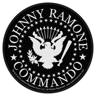 JOHNNY RAMONE Commando Seal, パッチ