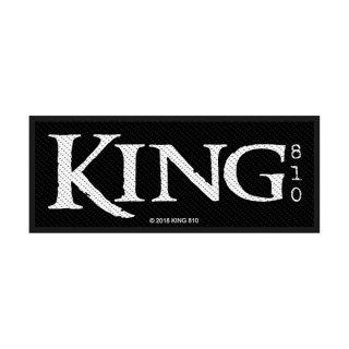 KING 810 Logo, パッチ