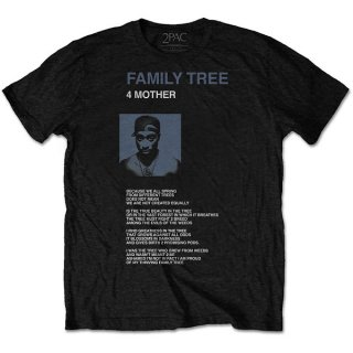 2PAC Family Tree, Tシャツ
