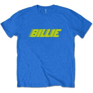 BILLIE EILISH Racer Logo Blu, Tシャツ