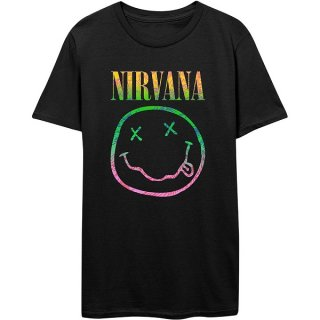 NIRVANA Sorbet Ray Smiley, Tシャツ