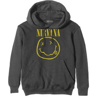 NIRVANA Yellow Smiley, パーカー