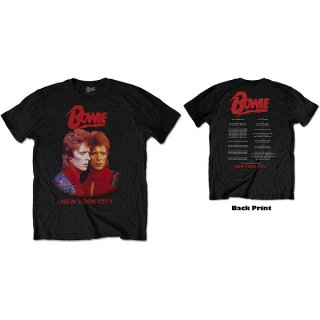 DAVID BOWIE New York City, Tシャツ