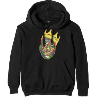 THE NOTORIOUS B.I.G. Crown Blk, パーカー