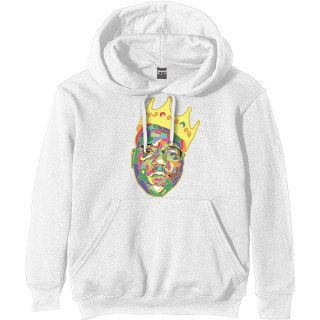 THE NOTORIOUS B.I.G. Crown Wht, パーカー