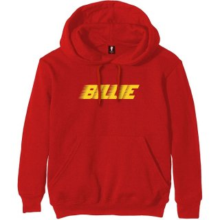 BILLIE EILISH Racer Logo Red, パーカー