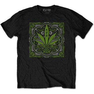 CYPRESS HILL 420 Leaf, Tシャツ
