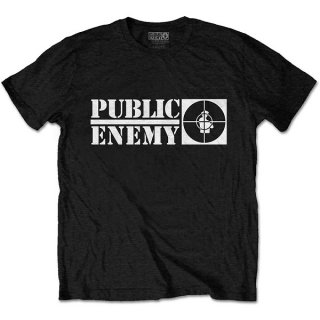 PUBLIC ENEMY Crosshairs Logo, Tシャツ