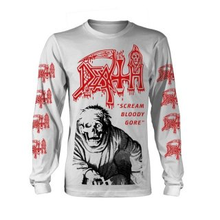 DEATH Scream Bloody Gore - Vintage Wash, ロングTシャツ