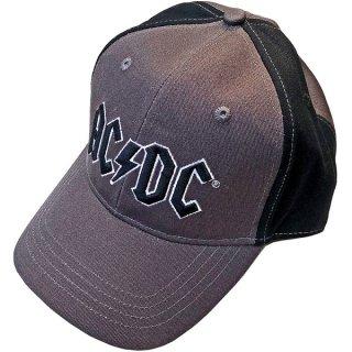 AC/DC Black Logo 2 Tone, キャップ