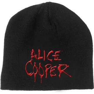 ALICE COOPER Dripping Logo, ニットキャップ