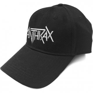 ANTHRAX Logo Sonic Silver, キャップ