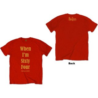 THE BEATLES When I'm Sixty Four, Tシャツ