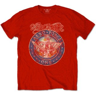 AEROSMITH Aero Force Red, Tシャツ