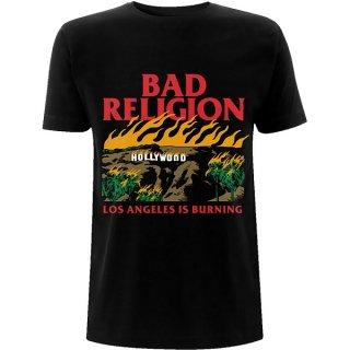 BAD RELIGION Burning Black, Tシャツ