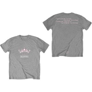 BLACKPINK The Album - Crown Grey, Tシャツ