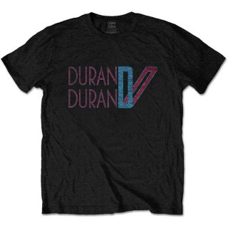 DURAN DURAN Double D Logo, Tシャツ