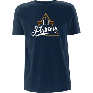 FOO FIGHTERS Triangle Navy, Tシャツ