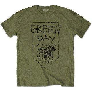 GREEN DAY Organic Grenade, Tシャツ