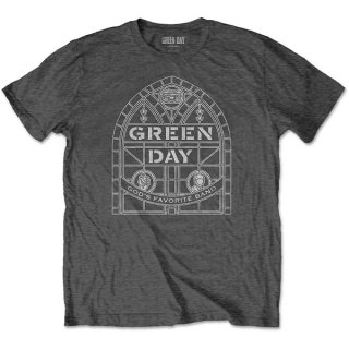 GREEN DAY Stained Glass Arch, Tシャツ