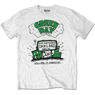 GREEN DAY Welcome To Paradise, Tシャツ