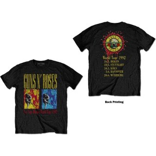 GUNS N' ROSES Use Your Illusion World Tour, Tシャツ