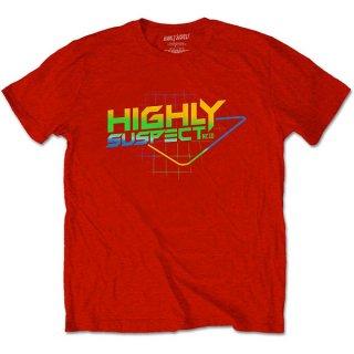 HIGHLY SUSPECT Gradient Type, Tシャツ