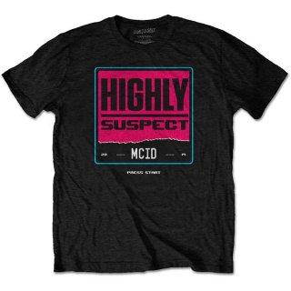 HIGHLY SUSPECT Press Start, Tシャツ