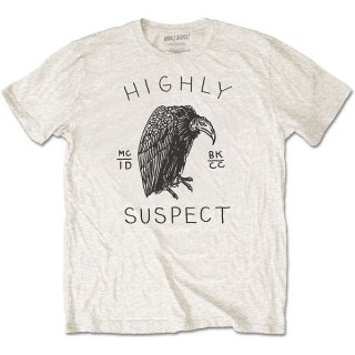 HIGHLY SUSPECT Vulture, Tシャツ