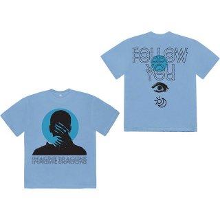 IMAGINE DRAGONS Follow You Blu, Tシャツ