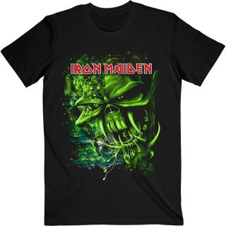 IRON MAIDEN Final Frontier Green, Tシャツ