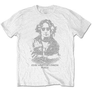 JOHN LENNON Peace, Tシャツ
