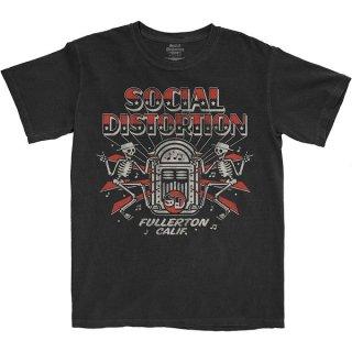 SOCIAL DISTORTION Jukebox Skelly, Tシャツ