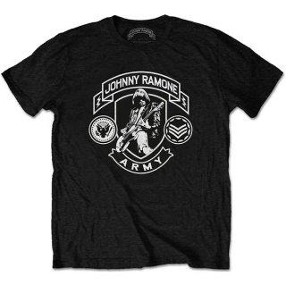 JOHNNY RAMONE Army Logo, Tシャツ