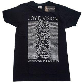 JOY DIVISION Unknown Pleasures White On Black, Tシャツ