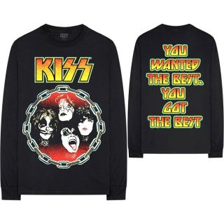 KISS You Wanted The Best, ロングTシャツ