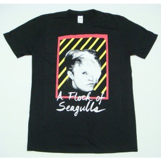 A FLOCK OF SEAGULLS Neon Logo, Tシャツ