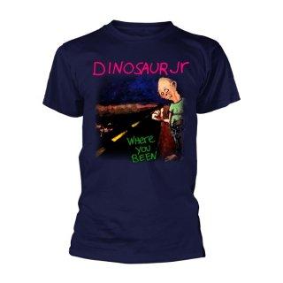 DINOSAUR JR. Where You Been Navy, Tシャツ