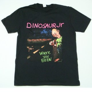 DINOSAUR JR. Where You Been Blk, Tシャツ