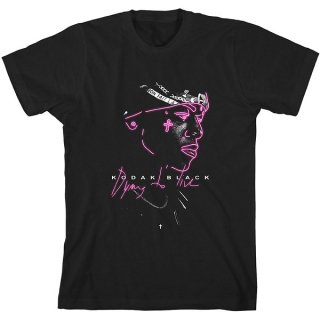 KODAK BLACK Neon Outline, Tシャツ