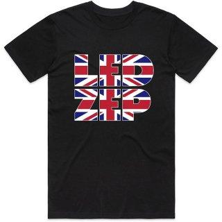 LED ZEPPELIN Union Jack Type, Tシャツ