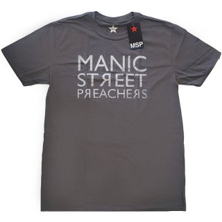 MANIC STREET PREACHERS Reversed Logo, Tシャツ