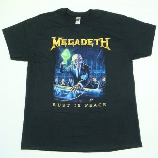MEGADETH Rust In Peace Track List, Tシャツ