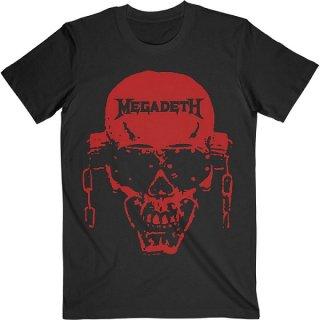 MEGADETH Vic Hi-Contrast Red, Tシャツ