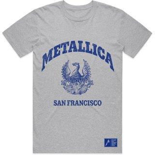 METALLICA College Crest, Tシャツ